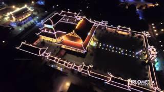 Download Chùa Ba Vàng Quảng Ninh Flycam - Ba Vang Pagoda night Skycam Drone View Video