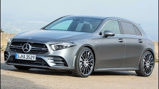 Download 2019 Grey Mercedes AMG A35 - Dynamic, Agile and Powerful Video