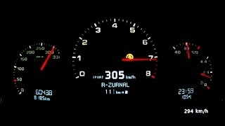 Download Porsche 911 997 Carrera S - acceleration 0-290 km/h and more dynamic tests Video