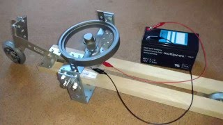 Download Gyrocar #1 (gyroscope stabilized 2-wheeled toy) Video