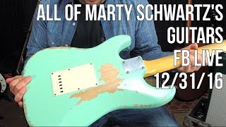 Download Marty Schwartz Shows His Guitar Collection - Facebook Live ReBroadcast Video