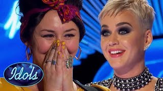 Download She SINGS 'I KISSED A GIRL' BETTER Than Katy Perry On American Idol 2018 | Idols Global Video