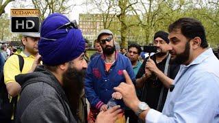 Download P1 - Come To Reality! Adnan Rashid vs Sikh l Speakers Corner l Hyde Park Video