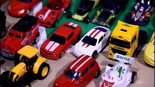 Download 50 small toy cars for children | Police Car | Sports car | A lot cars for children Video