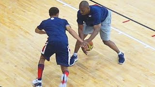Download Steph Curry SHOWS Out At USA Practice With KD, LeBron, Westbrook, Etc! Video