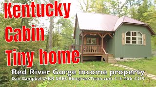 Download Cabin vacation home rental house for sale Red River Gorge Kentucky KY Video