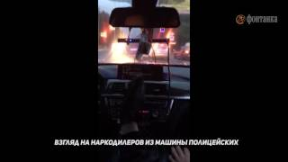 Download Как выглядит погоня за Land Cruiser из полицейского BMW: «Коля, жми!» Video
