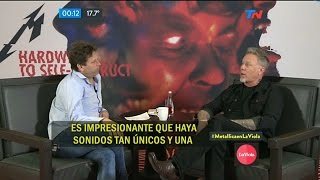 Download Metallica - Entrevista Argentina (La Viola, Noviembre 2016) Video