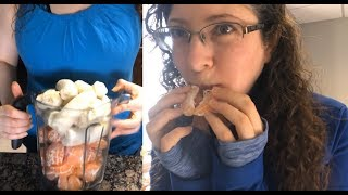 Download WHAT I EAT IN A DAY - Day Job VLOG - Raw Vegan Fruitarian Day 1,154. Video