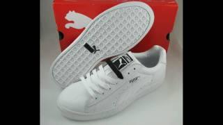 Download Puma Basket II - Black / White and All White Video