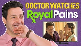 Download Real Doctor Reacts to ROYAL PAINS | Medical Drama Review Video