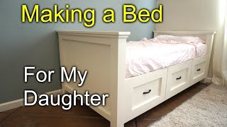 Download DIY farmhouse bed for my daughter Video