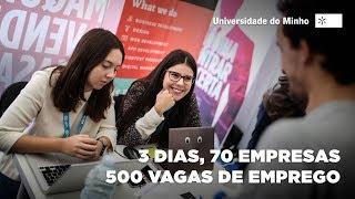 Download Mais de 500 ofertas de emprego na UMinho! Video
