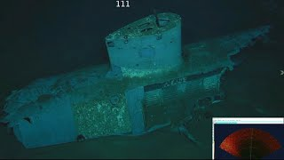 Download Up-close look at sunken USS Indianapolis, missing since WWII Video