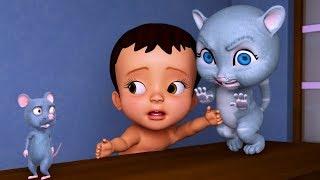 Download Chuhe Ne Kya Kiya? Bhaago Baag | Hindi Rhymes for Children | Infobells Video