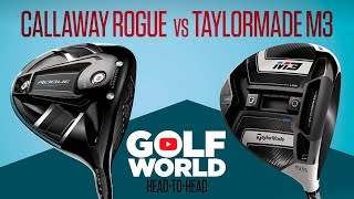 Download HEAD-TO-HEAD DRIVERS TEST: CALLAWAY ROGUE vs TAYLORMADE M3 Video