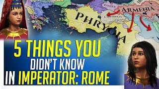 Download 5 Things You Didn't Know in Imperator: ROME Video