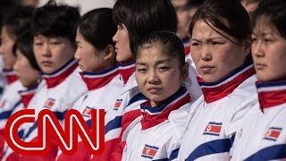 Download North Korean athletes under 24-hour watch at Olympics Video