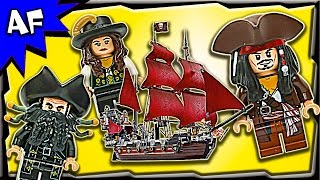Download Lego Pirates of the Caribbean QUEEN ANNE's Revenge 4195 Stop Motion Build Review Video