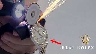 Download What's inside REAL vs FAKE Rolex? Video
