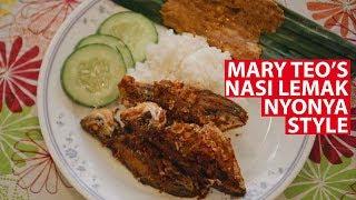 Download Mary Teo's Nasi Lemak Nyonya Style   Vanishing Recipes   CNA Insider Video