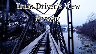 Download TRAIN DRIVER'S VIEW: Working the local on a cold winter day Video