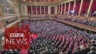 Download French parliament sings La Marseillaise - BBC News Video