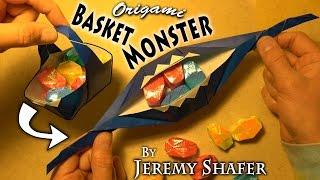 Download Origami Basket Monster Video