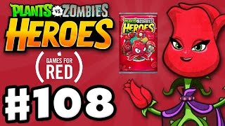 Download RED STINGER! (Mission) RED Alert - Plants vs. Zombies: Heroes - Gameplay Walkthrough Part 108 (iOS) Video