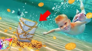 Download Exploring Abandoned Underwater Safe Trapped In A Waterpark! (TREASURE FOUND!) Video