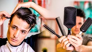 Download GOOD Mens Hair Tips | Picking the BEST Brush For Your Hair | 2017 Video