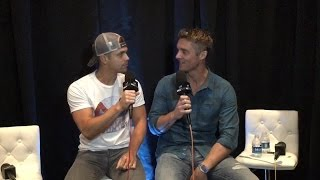 Download Brett Young Talks With Dustin Lynch Video