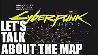 Download Cyberpunk 2077 lets talk about the map and night City, No mans sky podcast, and other games!!!! Video