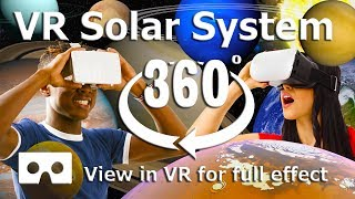 Download 360 Video - VR Solar System Space video for Virtual Reality - 4K Video