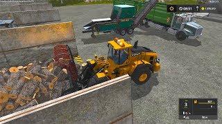 Download Farming Simulator 17 Timelapse #1 Biggest Woodchips Ever !! Video