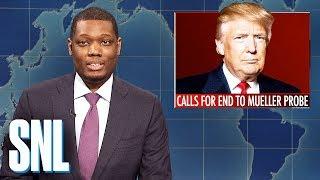 Download Weekend Update: Trump Calls for End to Mueller Probe - SNL Video