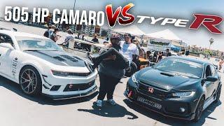Download 2018 Type R vs 500hp Camaro! Video