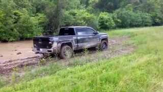 Download 2014 Black GMC Sierra All Terrain Mudding Video