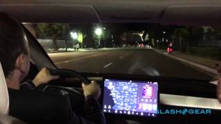 Download Tesla Model 3 first-ride Video
