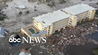 Download Death toll rises as devastation from Hurricane Michael mounts Video