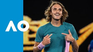 Download Stefanos Tsitsipas v Roger Federer match highlights (4R) | Australian Open 2019 Video