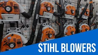 Download Stihl Backpack Leaf Blower Comparision Video