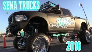Download LIFTED SEMA TRUCKS 2016 Video