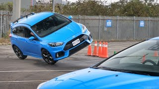 Download Auditioning To Be A Hollywood Stunt Driver [Ford Focus RS] Video