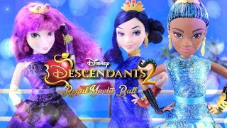 Download Unbox Daily: Disney Descendants 2 Royal Yacht Ball and Cotillion Doll Review Video