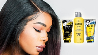 Download HOW TO USE GOT2B GLUED GEL FOR LACE FRONT WIGS | BeautyandMarie Video