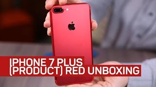 Download Red iPhone 7 Plus unboxing: Checking out the red of (Product)Red Video