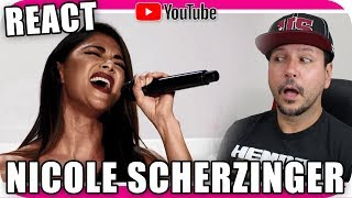 Download NICOLE SCHERZINGER - Marcio Guerra Reagindo React Reação Opera Pop Rock Video