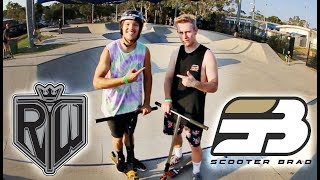 Download Ryan Williams VS Scooter Brad | GAME OF SCOOT Video