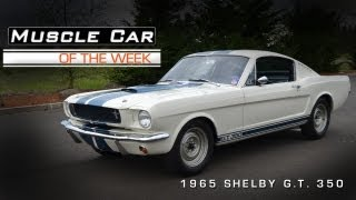 Download Muscle Car Of The Week Video #17: 1965 Shelby G.T. 350 Video